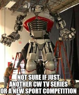 Cw tv series memes