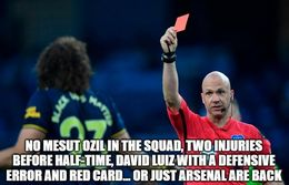 Red card memes